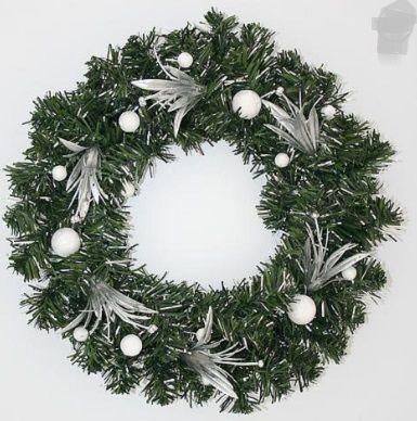 Vánoční dekorační věnec 30cm