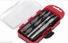 Sada modelářských nožů v praktickém pouzdře - 8ks