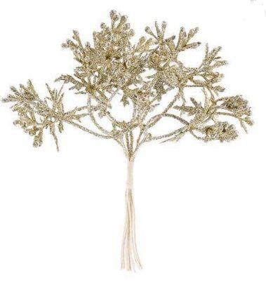 Dekorace větvička 15cm -1ks