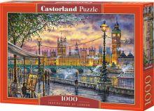 Puzzle Castorland 1000 dílků - Londýnské inspirace