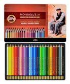 Akvarelová kreslířská souprava pastelek Mondeluz 36ks