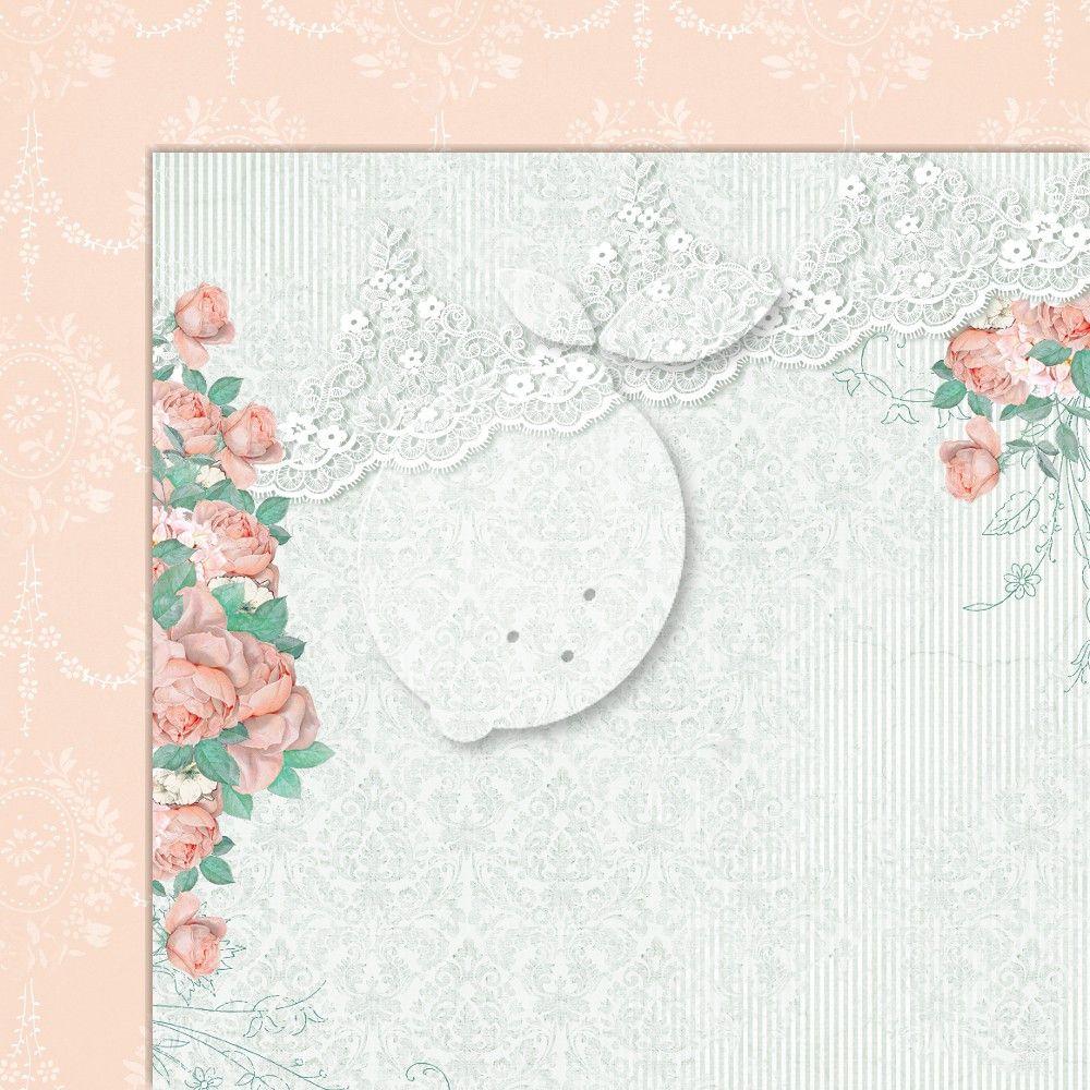 Kreativní oboustranný papír 250g/m2 LOVE OF.. - 30,5 x 30,5 cm