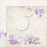 Kreativní oboustranný papír 250g/m2 PROVENCE - 30,5 x 30,5 cm