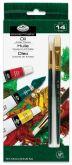 Sada olejových barev ROYAL 12 x 12ml  + 2 x stět..štětec