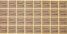 Samolepky HAND MADE 2,5x2,5cm - 32ks