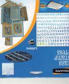 Razítka gelová Fiskars 20,5x20,5 ABECEDA - 148 znaků