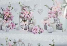 Dárkový balící papír Růže 100x70cm