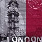 Zobrazit detail - Ubrousek 33x33 LONDÝN