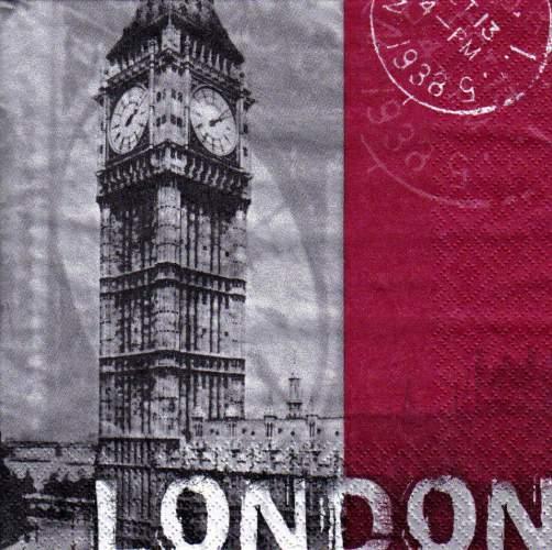 Ubrousek 33x33 LONDÝN
