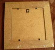Rámeček 16 x 16 cm MDF, rám 4cm