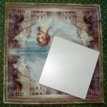Sololitová destička 20 x 20 cm + háček na pověšení