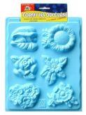 Plastová forma Květiny 20 x 30 cm