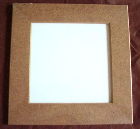 Rámeček 16 x 16 cm MDF, rám 3cm