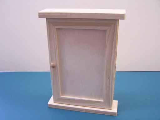 Skříňka na decoupage 30 x 20 x 6,5 cm