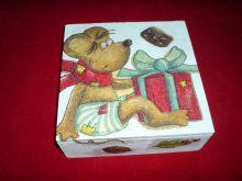 dřevěná kazeta s myškou