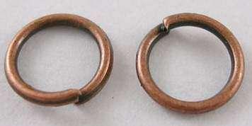 Spojovací kroužky STAROMĚĎ velikost 6 mm - 80ks