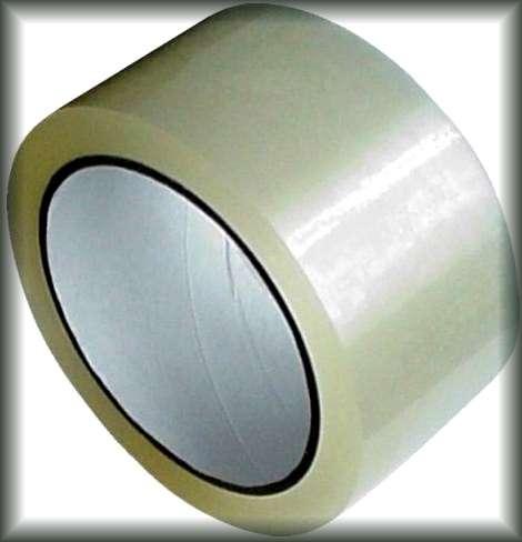 Lepicí páska PRŮHLEDNÁ 48mm/66m