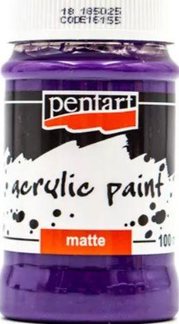 Akrylová barva matná PENTART 100ml