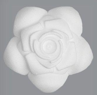 Polystyren RŮŽE 9cm - 1ks