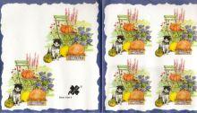 Decor papír - Kočka a židle 17 x 45 cm.