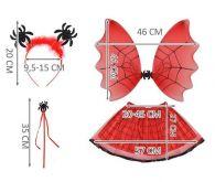 Kostým Pavoučí čarodějnice pro děti