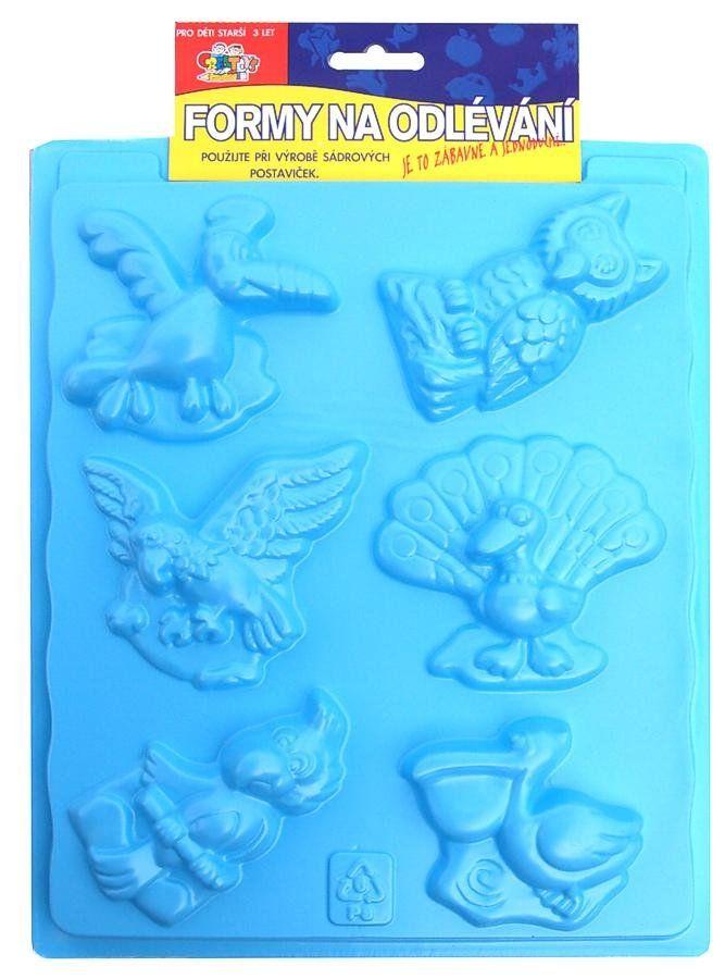 Plastová forma Ptáci 20 x 30 cm