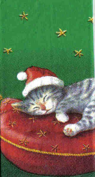 Kapesníčky 16,5 x 16,5 cm Vánoce