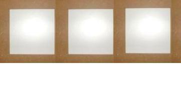 3 destičky 16x16 cm v jednom rámu, MDF, rám 3cm