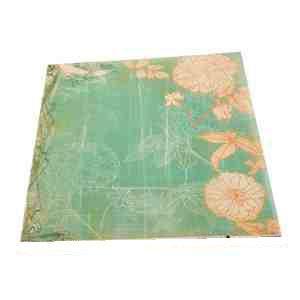 Transparentní papír KVĚTY 115g/m2 30,5 x 30,5 cm - 1ks