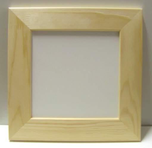 Rámeček 16x16 cm DŘEVO, rám 4 cm