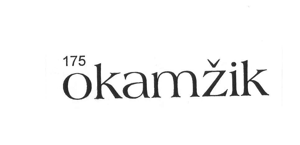 Razítkový štoček gumový OKAMŽIK 5,7x1,1cm