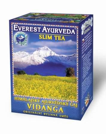 Himálajské ajurvédské bylinné čaje - VIDANGA - Snížení tělesné nadváhy Everest Ayurveda