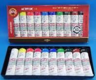 Sada akrylových barev10x40ml Koh-i-noor