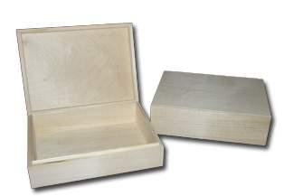 Dřevěná krabička 215x 138x 100mm