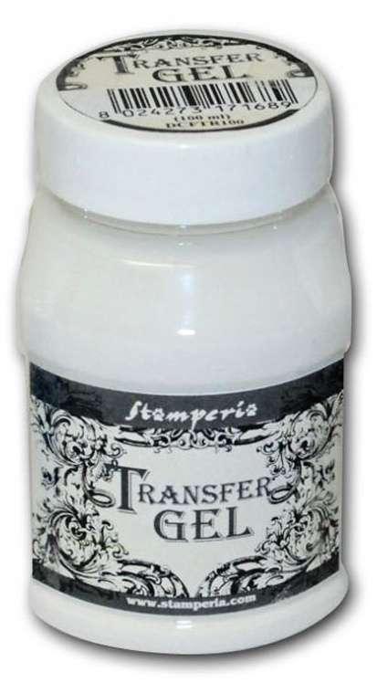 Arte Transfer gel Papír STAMPERIA 100ml k přenesení obrázku.
