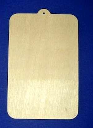 Dřevěný závěs 20x13cm 1ks