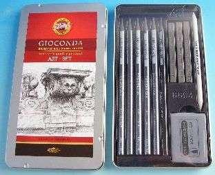 Kazeta GIOCONDA kreslířská 11ks Koh-i-noor