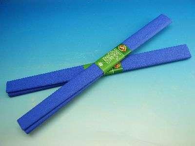 Krepový papír 200 x 50 cm - Modrý Koh-i-noor