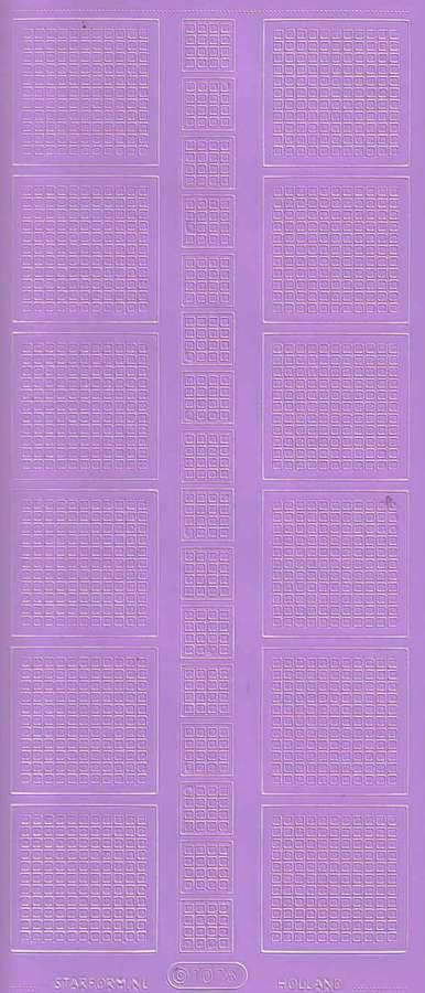 Obrysové samolepky FIALOVÉ 10x23cm