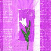 Ubrousky 33 x 33 cm Tulipán