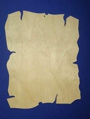 Dřevěný závěs VISAČKA 9x6cm, k hobby tvorbě a výrobě dekorace