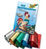 Hliníková folie barevná 300g/m2 - 5ks