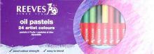 Sada Olejové pastely REEVES- 24 barev