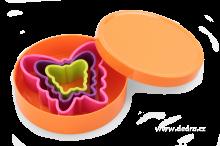 Plastové vykrajovátka motýli - 3ks