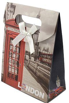 Dárková taška LONDÝN16,5x12,5x10cm