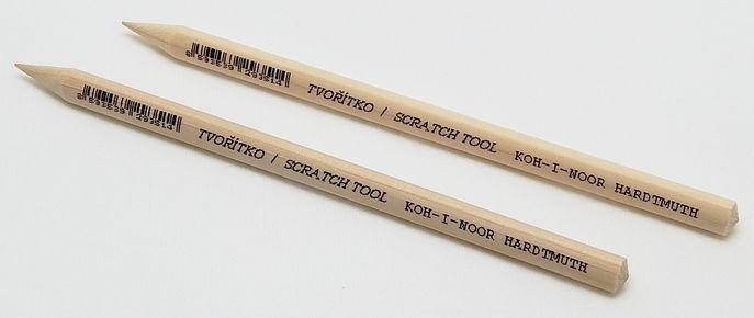 Modelovací tvořítko dřevěné se špičatým hrotem - 1ks