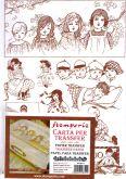 Transfer papír STAMPERIA 21x30cm - 2ks