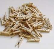 Kolíček  přírodní 25x3,5mm - 45-50ks