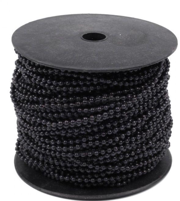 Perličky na šňůrce 3 mm - 1m