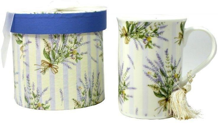 Dárkový box porcelán HRNÍČEK 12,3 x 11,2 cm
